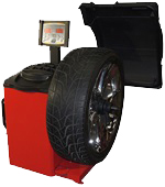 WB-CB66-VE wheel service wheel balancer